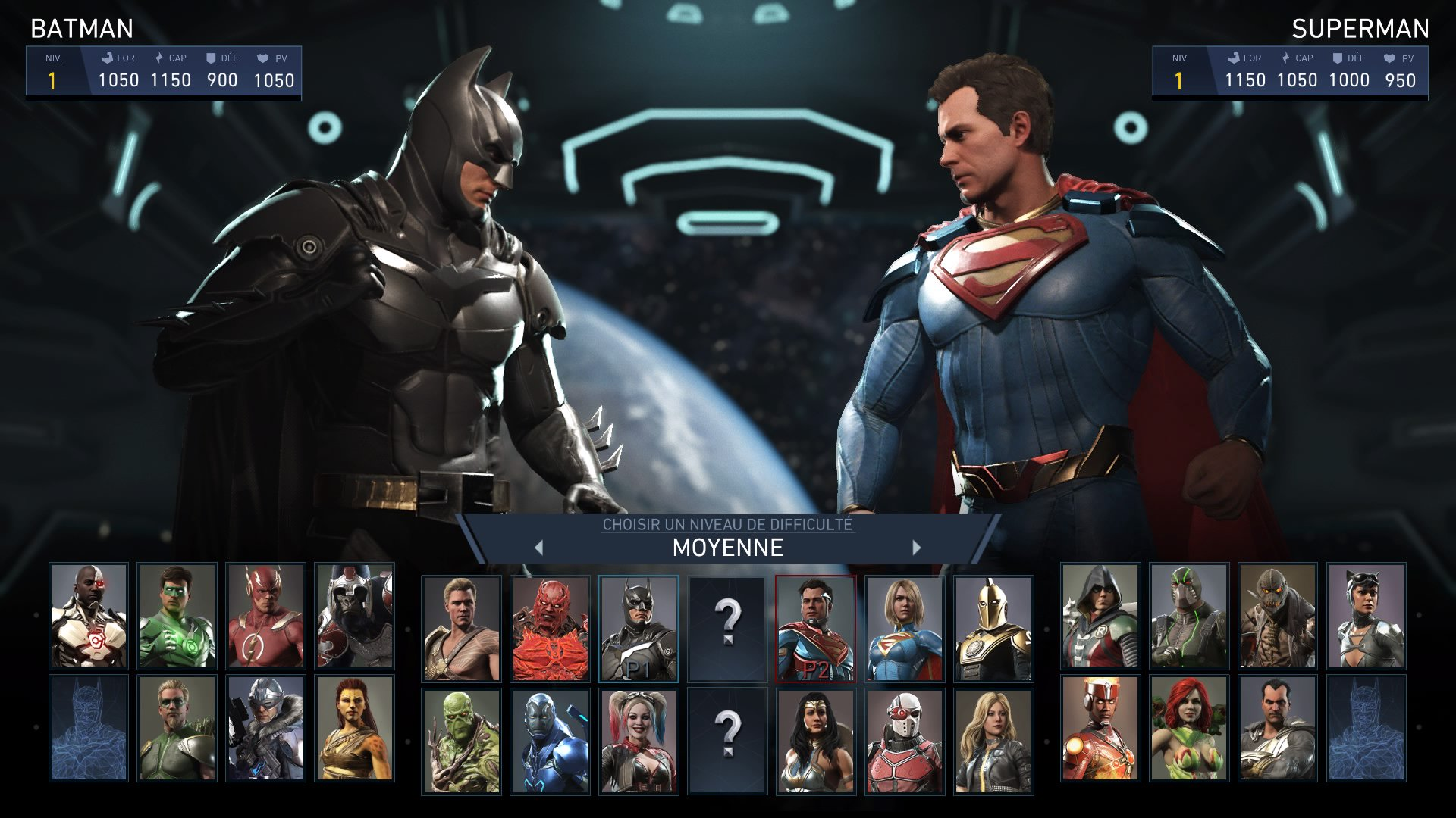 injustice 2 vs