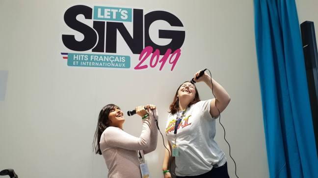 Let's Sing 2019 avec La Geek en Rose